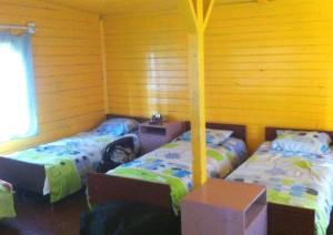 детский лагерь проивание в домиках