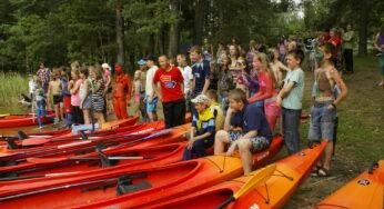 Оздоровительно — туристический лагерь для детей и подростков в Даугавпилсе 2020
