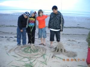 Летний детский лагерь у моря