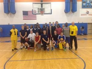 Basketbola nometne jauniešiem Amerikā