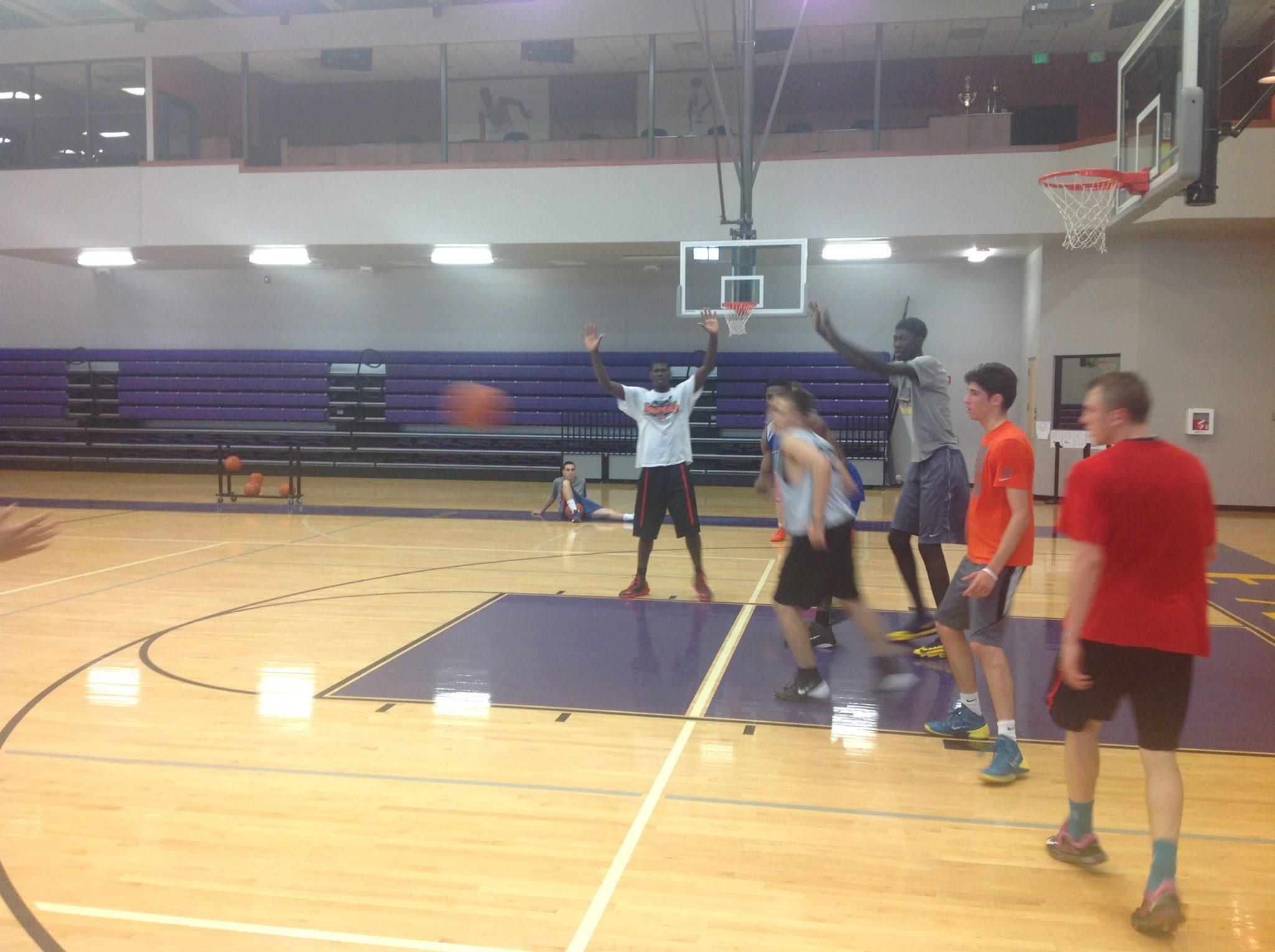 баскетбольный лагерь в Маями