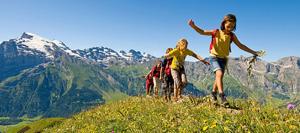 Международный частный лагерь в горах «Holiday Camp Switzerland» в Швейцарии