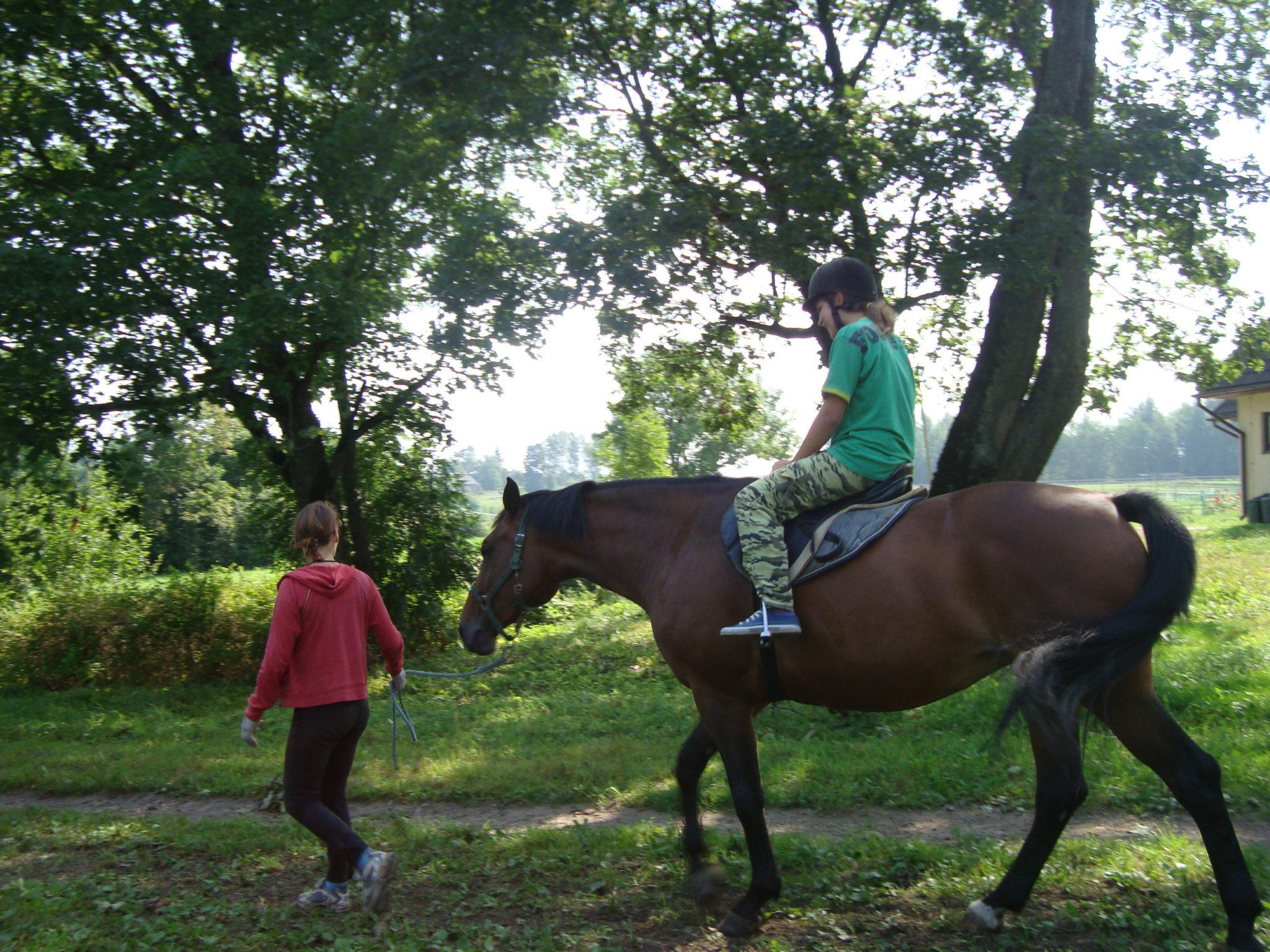 Zirgu jāšanas sporta nometne