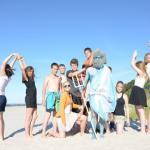 Детский и молодёжный отдых на море в Юрмале 2017