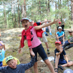 детский лагерь на мое