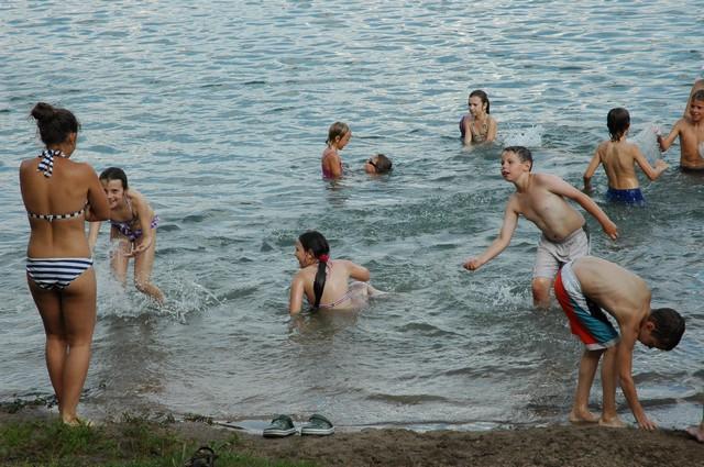 Лений детский лагерь в Литве