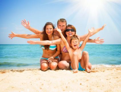 семейный лагерь на море