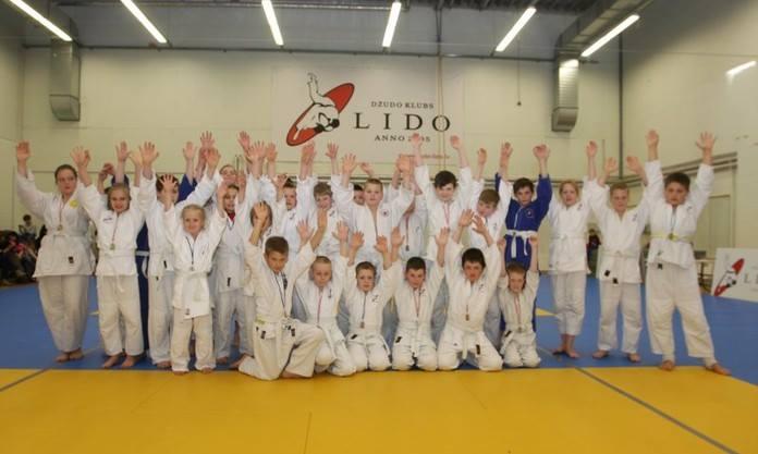 занятия по дзюдо для детей в Риге