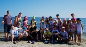 Angļu valodas nometne jūras krastā 2016
