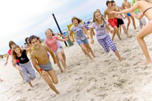 Международный детский лагерь  в Литве на побережье Балтийского моря