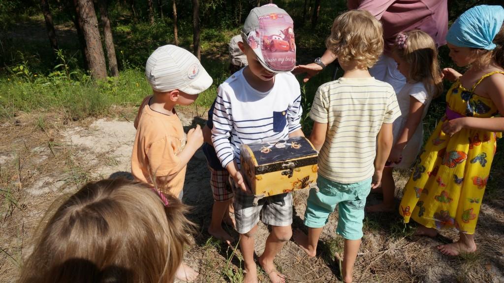 лагерь для самых маленьких в Юрмале