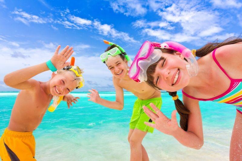детский отдых на море