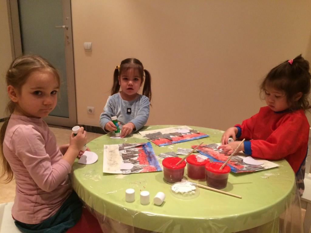 творческие занятия для самых маленьких в РигеРиге