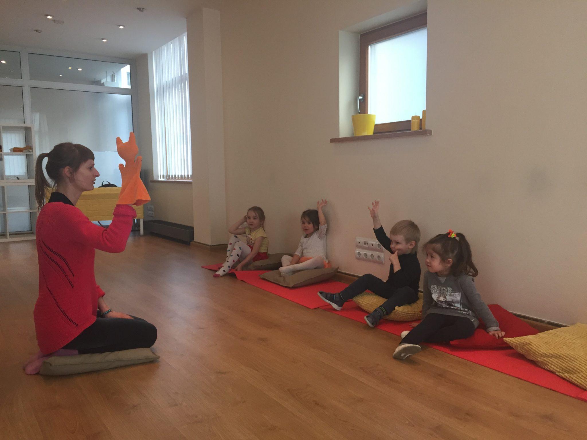 тетральная студия для детей в Риге