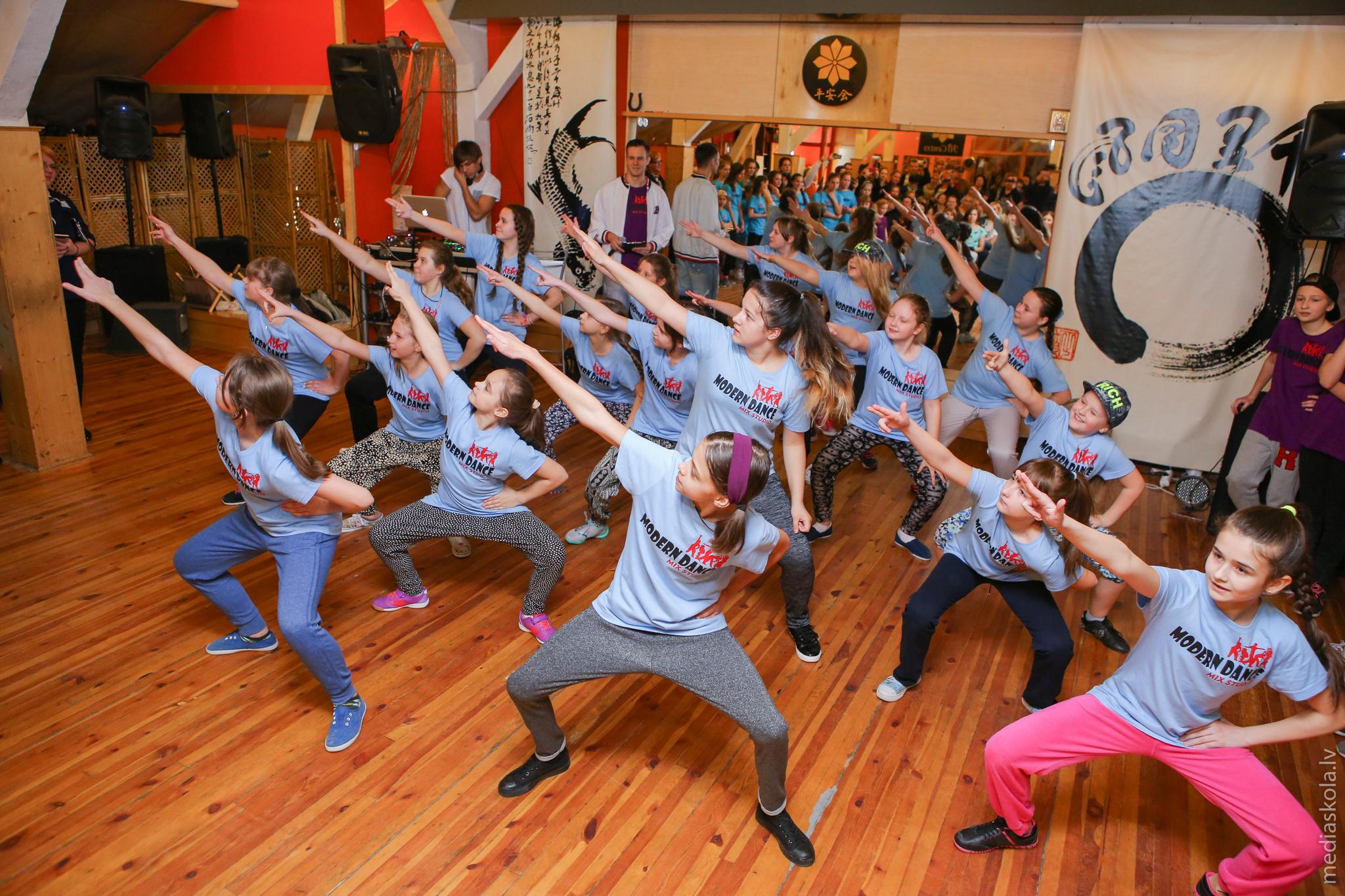 танцы для детей в Риге