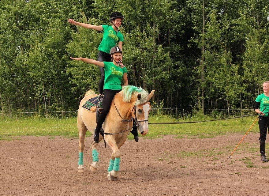 конный лагерь