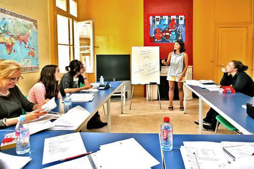летний языковой лагерь во Франции