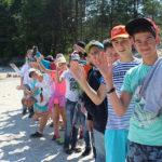 летний лагерь отдыха в Венспилсе