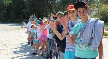 Летний детский тренинг-лагерь на море 2019