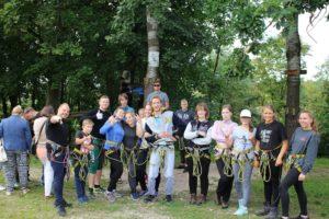 Tievēšanas nometne pusaudžiem Latvijā