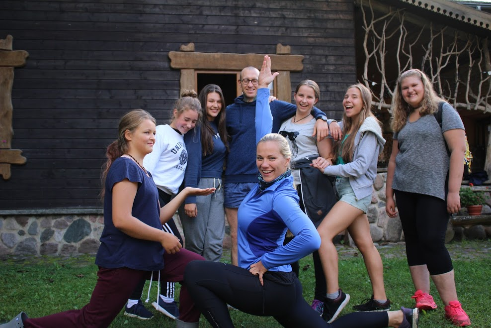 nometne bērniem Lietuvā