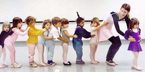 танцы для малышей в Риге