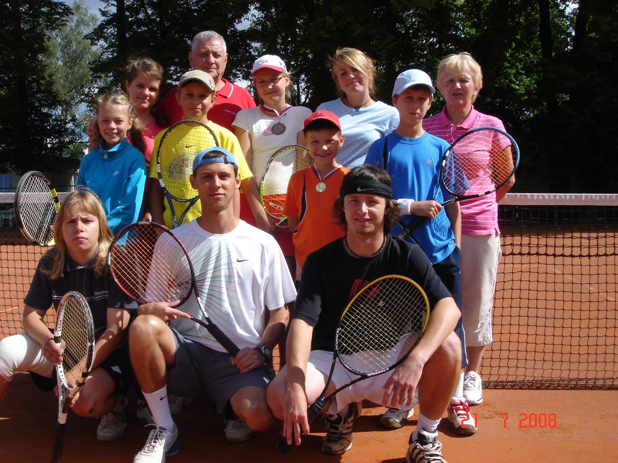 Летний детский теннисный лагерь в Праге