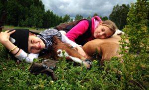 Jāšanas apmācības nodarbības bērniem Rīga