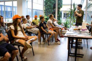 Дневной научный лагерь в Юрмале для юных физиков и биологов