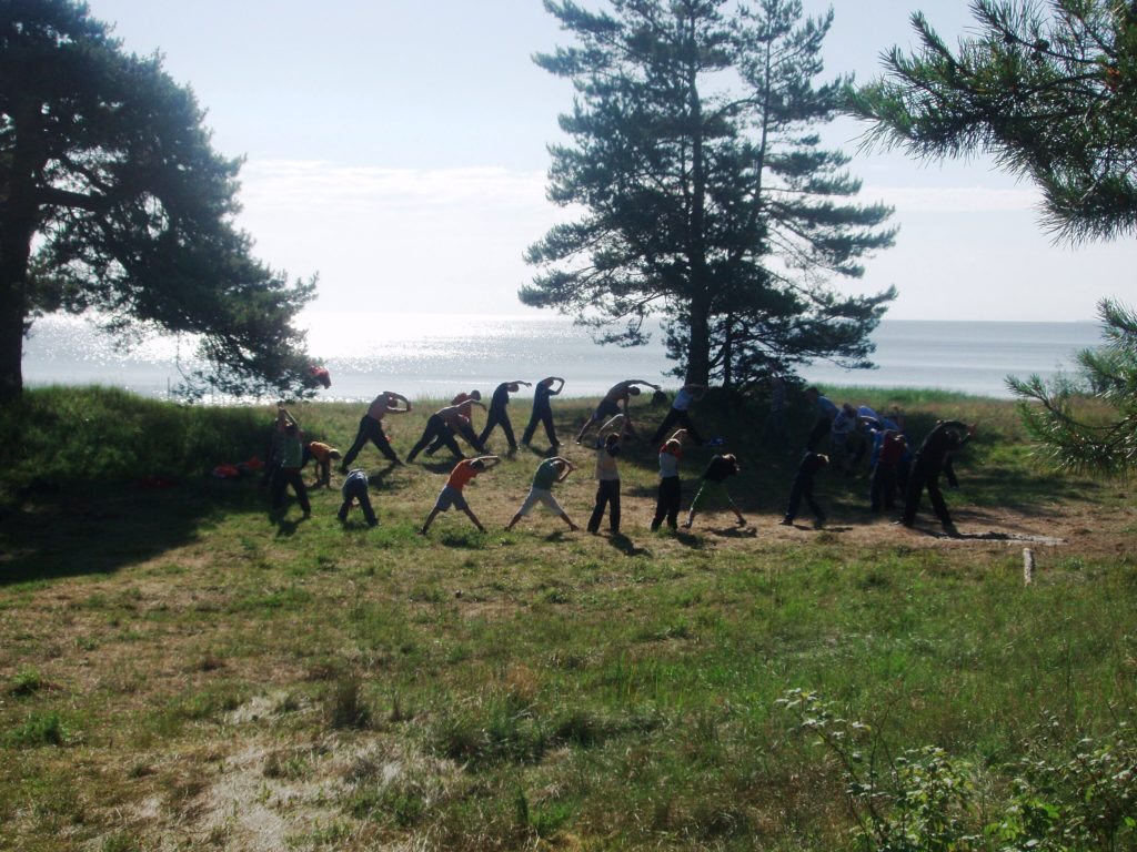 лагерь школа выживания на море