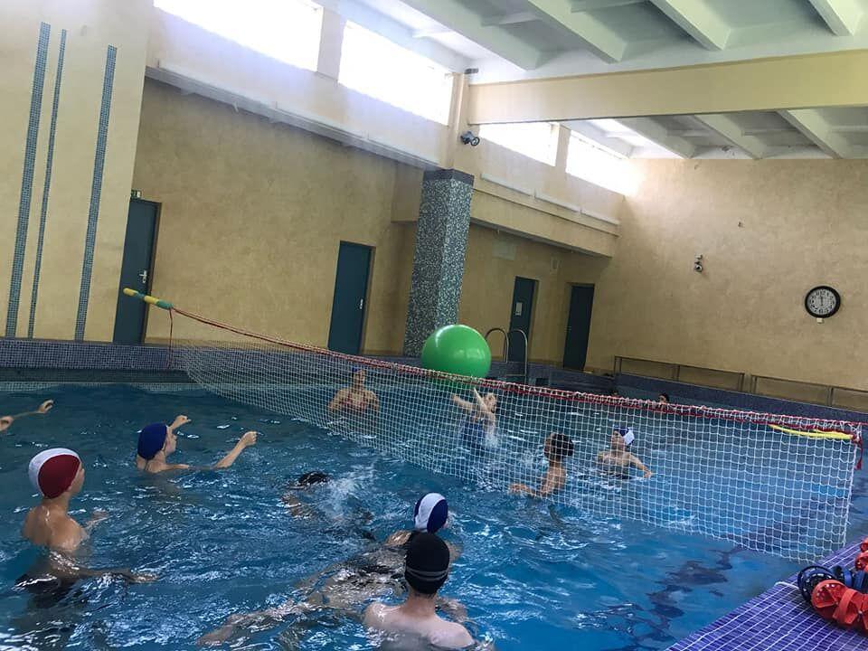 лагерь по обучению плаванью