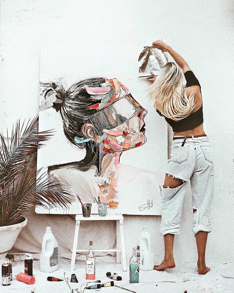 лагерь живописи в Риге