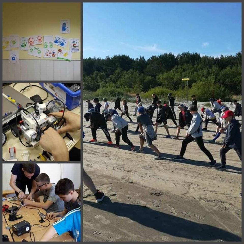 лагерь роботехники в Юрмале
