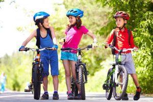 вело лагерь для детей в Риге