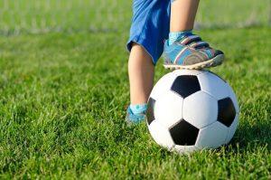 futbola nometne bērniem Rīgā