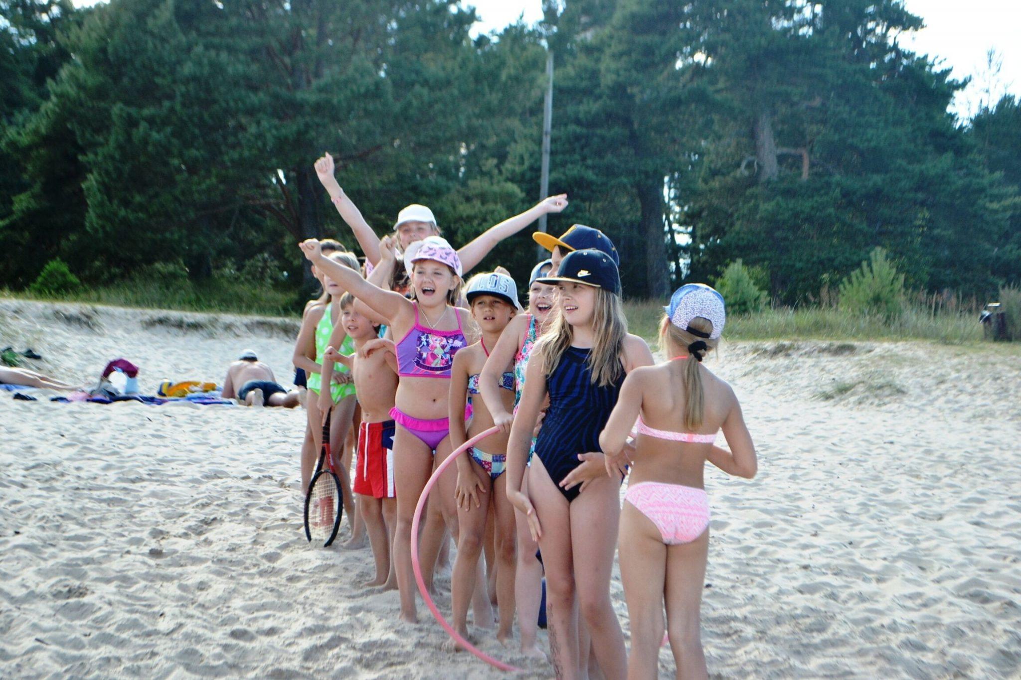 nometnes 2020 Latvijā bērniem