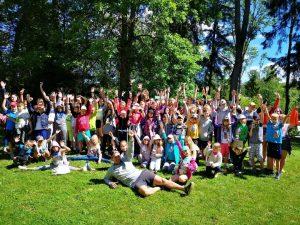 Летний спортивный дневной лагерь для детей в Риге 2020